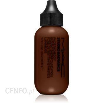 MAC Cosmetics Studio Radiance Face and Body Radiant Sheer Foundation lekki podkład do twarzy i ciała odcień N7 50 ml