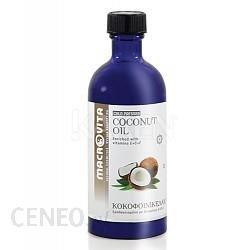 Macrovita Olejek kokosowy tłoczony na zimno z kompleksem witamin E+C+F 100ml