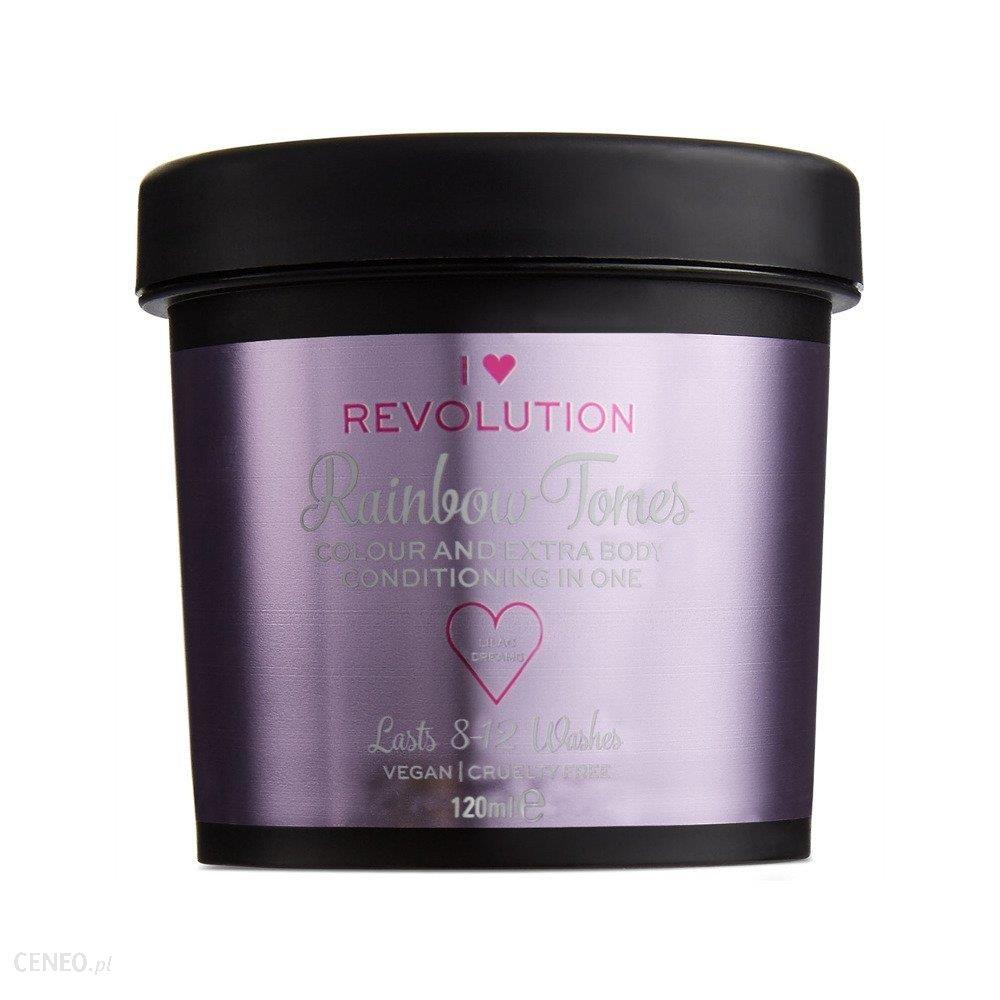 Makeup Revolution Rainbow Tones Koloryzujący krem do włosów Lilac Dreams 120ml