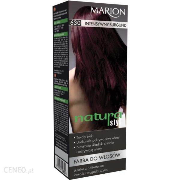 Marion Farba do włosów Natura Styl 630 intensywny burgund