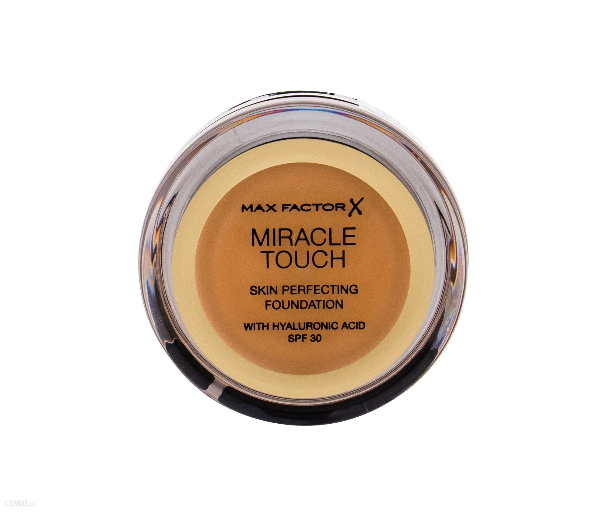 Max Factor Miracle Touch SPF30 Skin Perfecting Podkład 085 Caramel 11