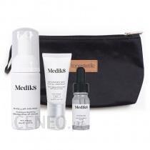 Medik8 Hydr8 B5 Travel Set ZESTAW Mus oczyszczający 40 ml + Serum 8 ml + Krem nawilżający SPF 30 Kosmetyczka