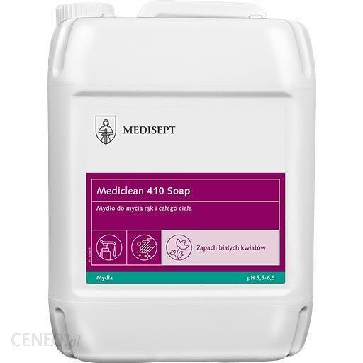 Medisept Mediclean 410 Soap Mydło W Płynie Do Mycia Rąk I Całego Ciała 5L