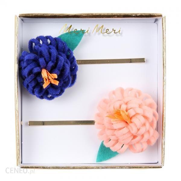 Meri Meri Wsuwki Do Włosów Kwiaty Filcowe