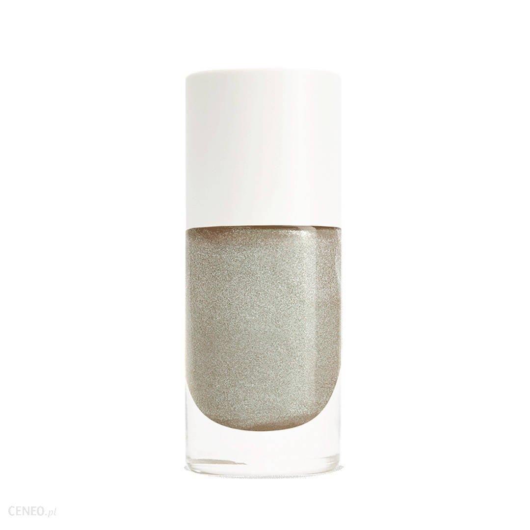 NAILMATIC PURE color VIKTORIA organiczny lakier do paznokci metaliczne srebro 8 ml