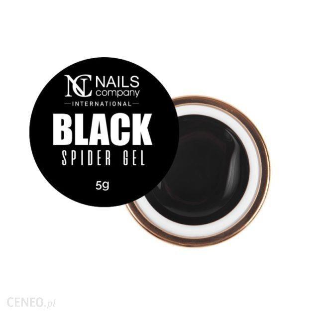 Nails Company Spider Gel Pajęczyna Black 5G