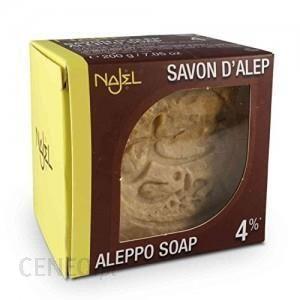 Najel Aleppo Mydło Oliwkowo Laurowe Aleppo 4% Oleju Laurowego 200g