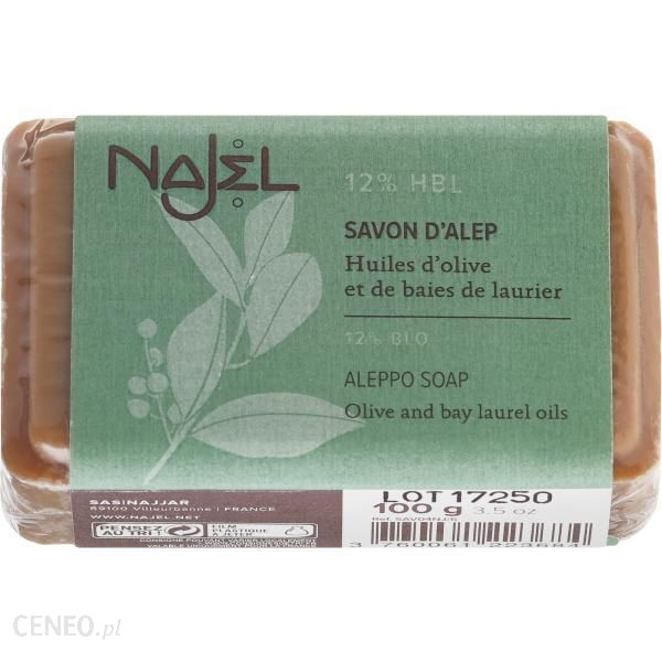 najel Mydło kosmetyczne z olejem laurowym 12% Aleppo Soap 100g