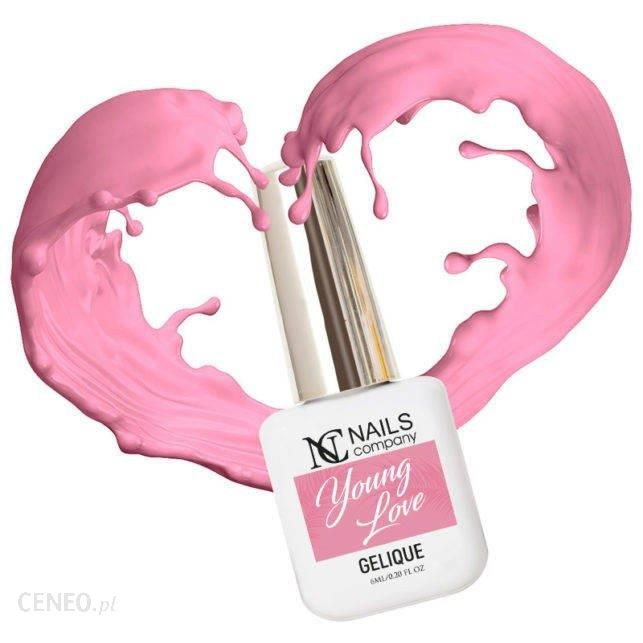 Nc Nails Lakier Hybrydowy Young Love 6Ml