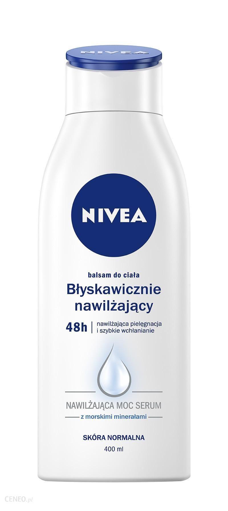 Nivea Body Balsam Do Ciała Express Hydration Błysk