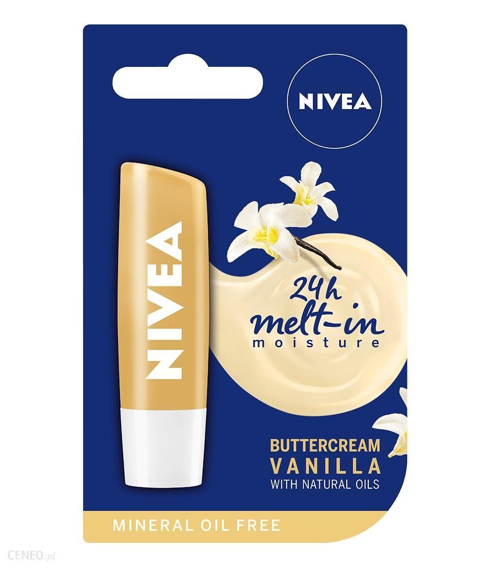 Nivea Vanilla Buttercream Pielęgnacyjna pomadka do ust 4