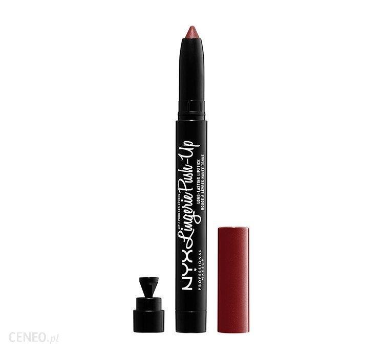 NYX Professional Makeup Lip Lingerie Push Up Long Lasting Lipstick szminka matująca w w pisaku EXOTIC 1