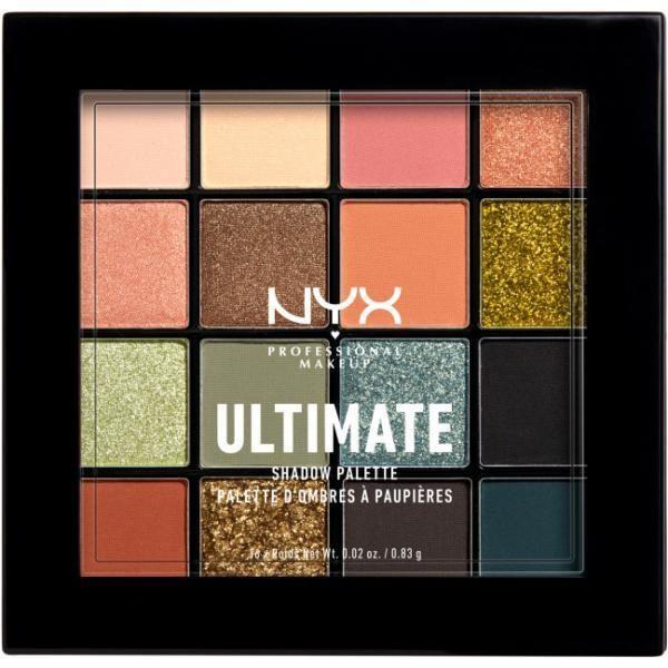 nyx professional makeup Paleta cieni do powiek NYXUltimate Shadow Palette ultimate utopia