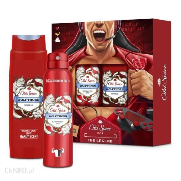 Old Spice Zestaw Wolfthorn Gamer Deo Spray 150ml + Żel pod Prysznic 250ml