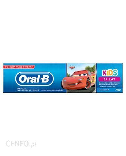 Oral-B Pasta Do Zębów Frozen & Cars 3+ 75Ml
