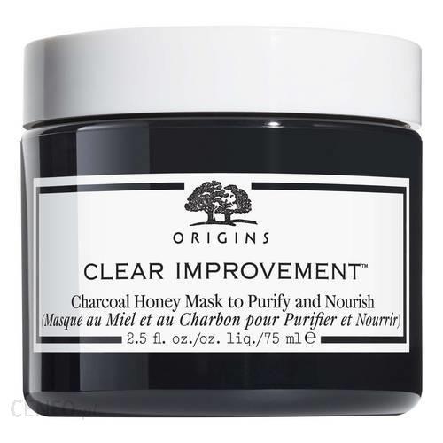 Origins Clear Improvement Charcoal Honey Mask Maska do twarzy 75ml