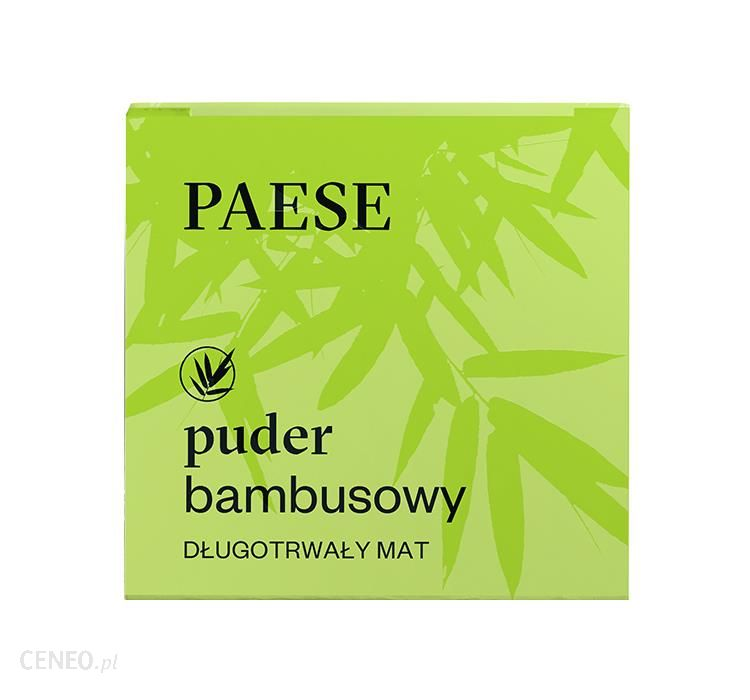 PAESE Sypki Puder Bambusowy 5g