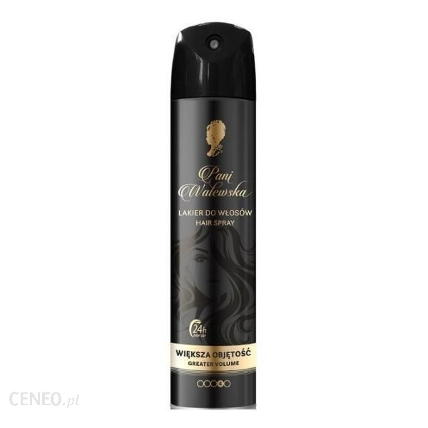 pani walewska Lakier Do Włosów Zwiększający Objętość Hairspray Greater Volume 250ml