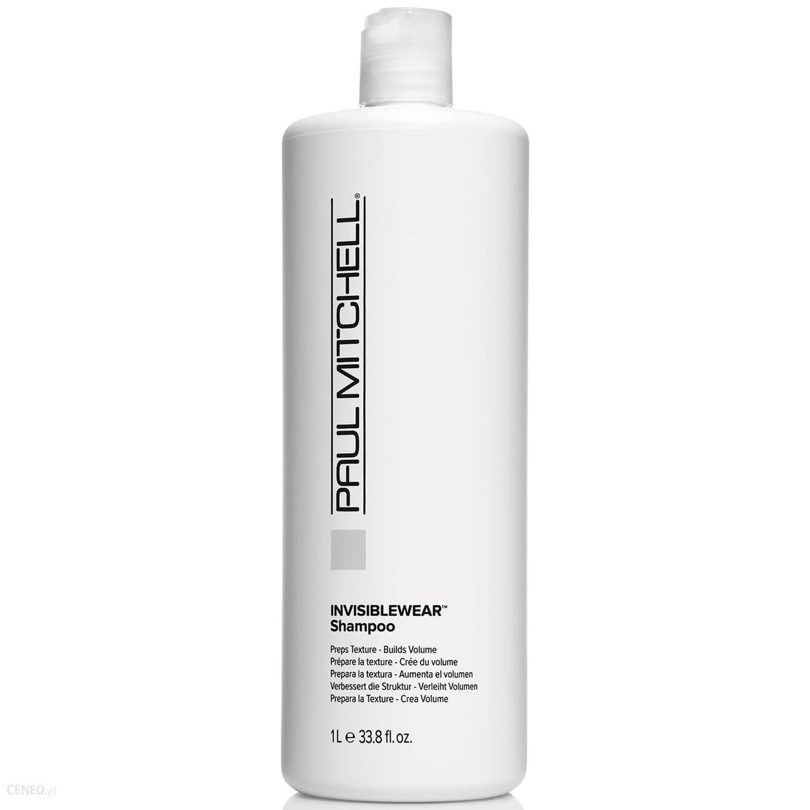 Paul Mitchell Invisiblewear Shampoo Szampon Zwiększający Objętość Włosów 1000Ml