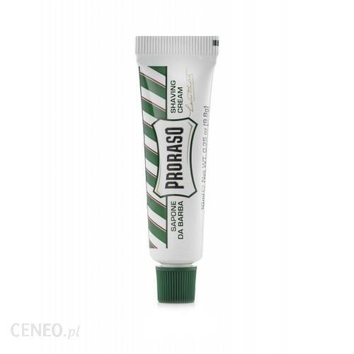 PRORASO Krem do golenia 10ml Linia Zielona MINI