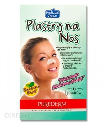 PUREDERM plastry na nos oczyszczające pory DRzEWO HERBACIANE 6 szt