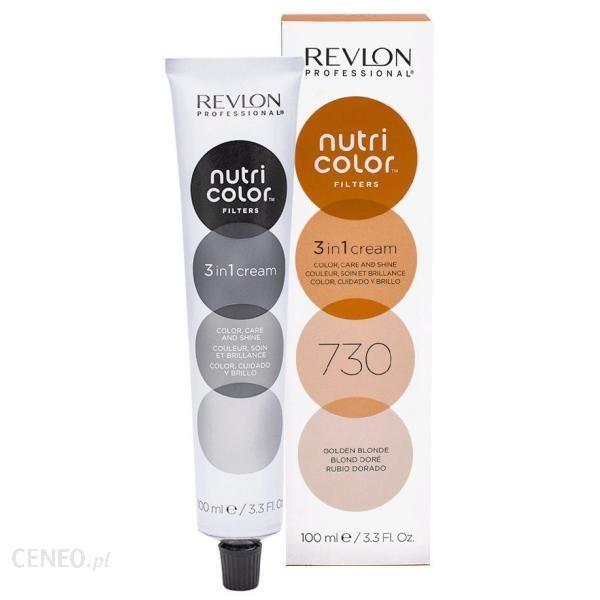 Revlon Professional Tonujący Krem Balsam Do Włosów Nutri Color Filters 730 Golden blonde 100ml