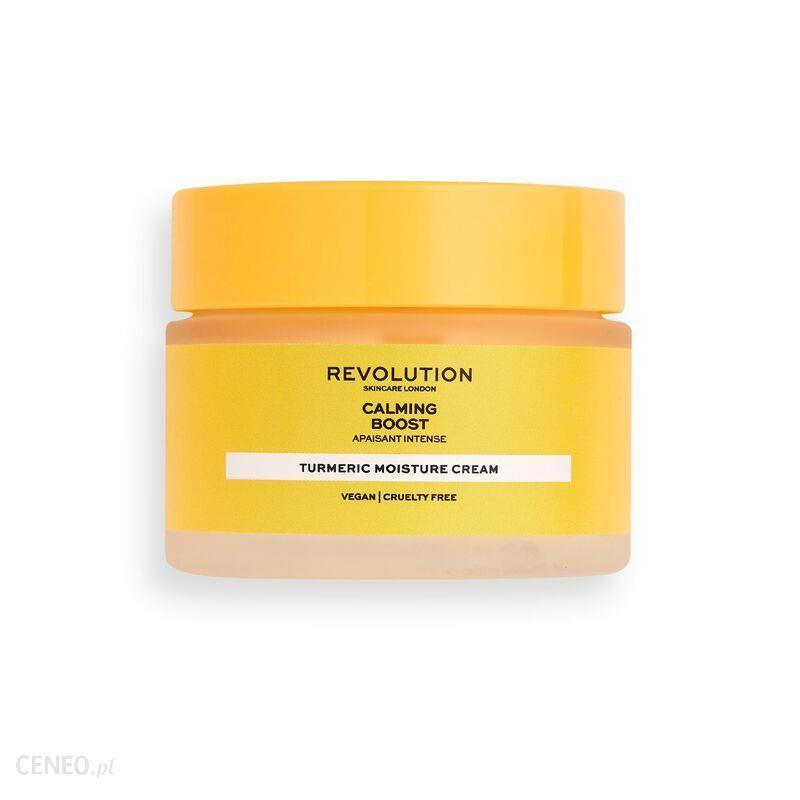 Revolution Skincare Calming Boost Cream Krem do Twarzy z Kurkumą 50ml