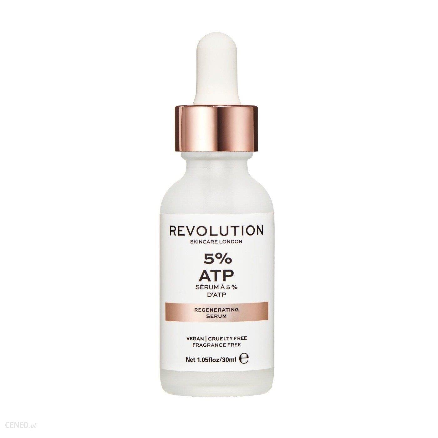 Revolution Skincare Skin Hydration&Regenerating Serum 5% ATP Serum do skóry suchej zmęczonej i pozbawionej blasku 30ml