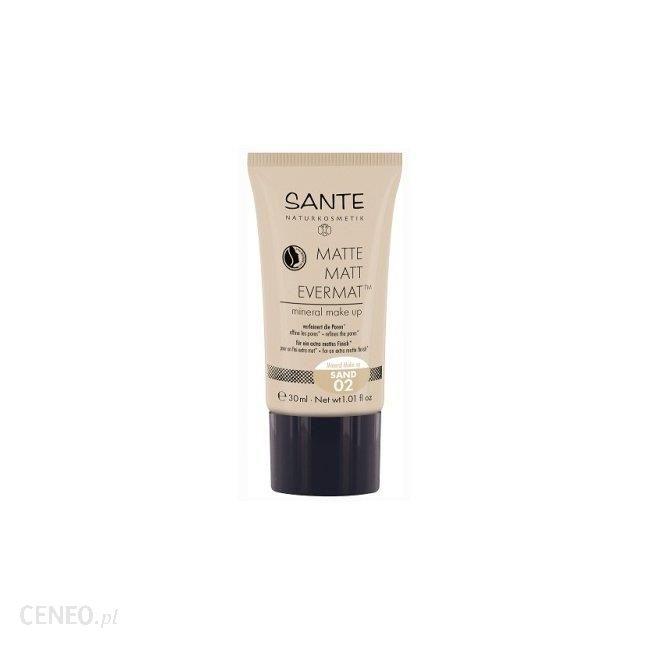 Sante mineralny podkład do twarzy Matte 02 Sand 30ml