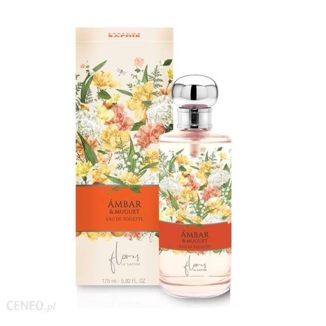 SAPHIR Flores Woman Woda toaletowa Ambar&Muguet 175ml