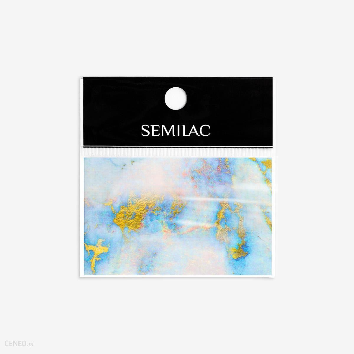 SEMILAC 07 NAIL TRANSFER FOIL BLUE MARBLE