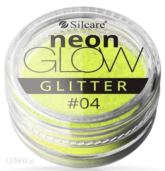 Silcare Neon Glow Efekt Syrenki Neonowy Pyłek Nr 04 3 g