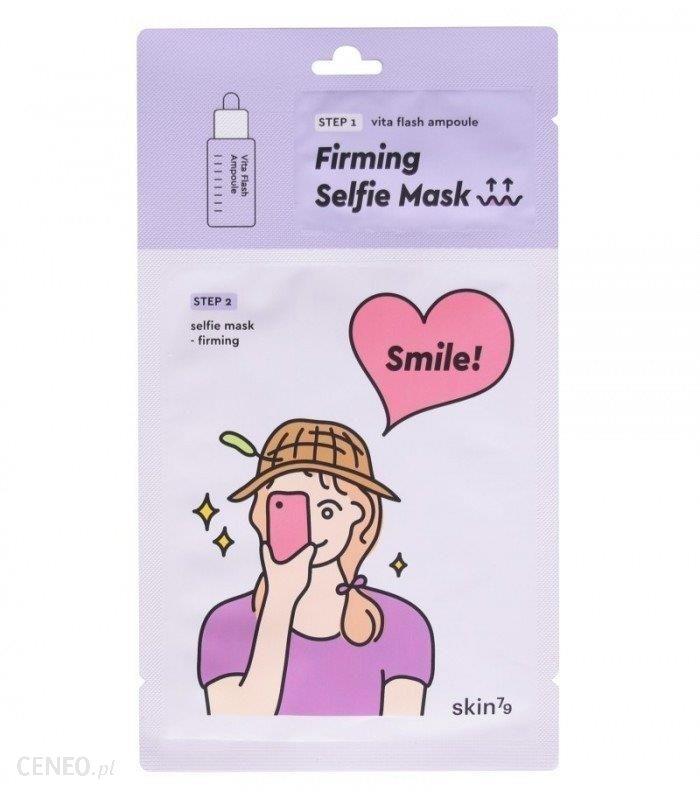 Skin79 Przeciwzmarszczkowa maska w płacie SELFIE MASK FIRMING 2 STEP