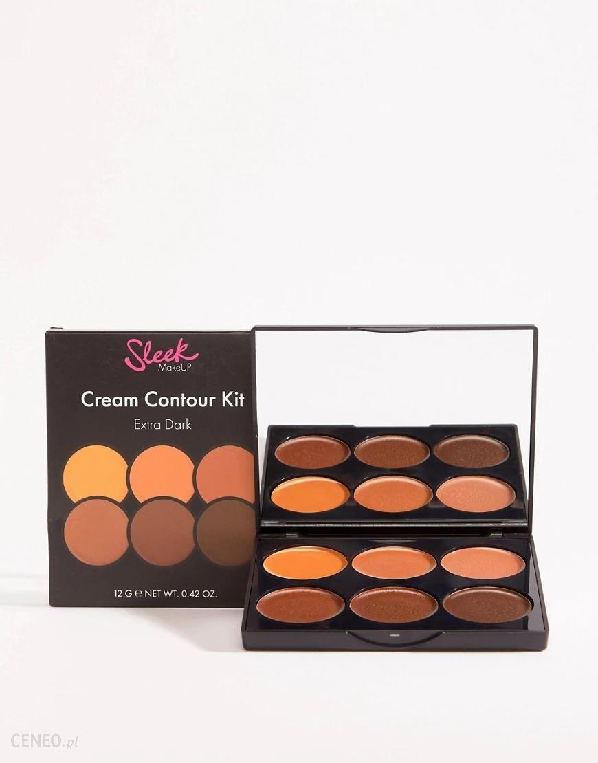 Sleek MakeUP Zestaw kremowych kosmetyków do konturowania Odcienie: Extra Dark