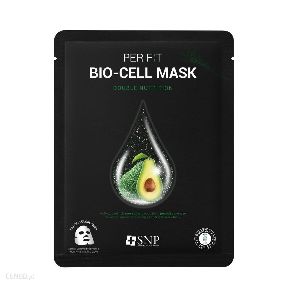 Snp Per F:T Bio-Cell Double Nutrition Mask Intensywnie Odżywcza Maska W Płachcie Z Biocelulozy