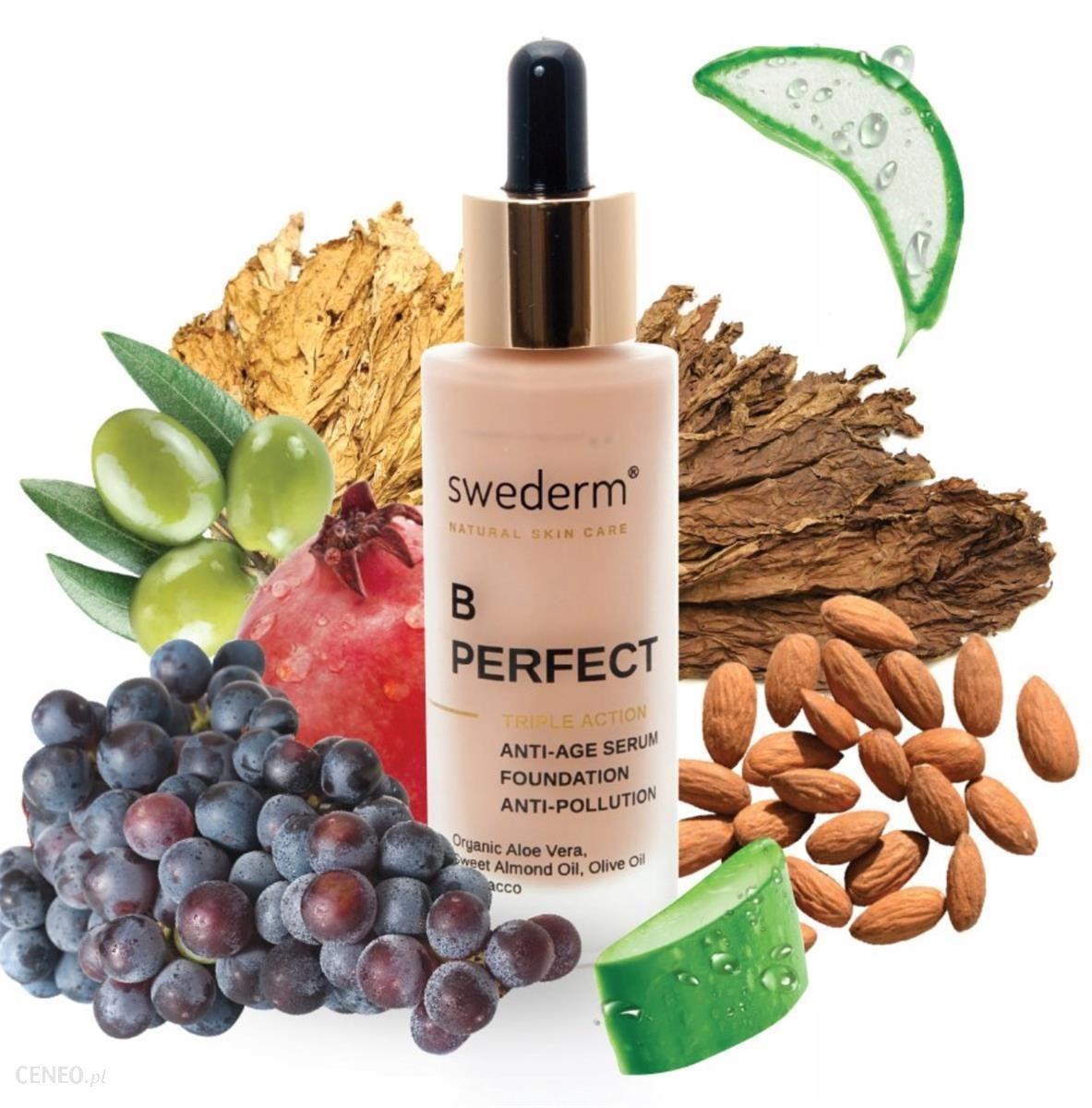 Swederm Bperfect Triple Action Fluid Serum Przeciwzmarszczkowe I Ochrona Przed Zanieczyszczeniami I Promieniami Słonecznymi 30 Ml