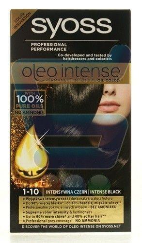 SYOSS Oleo Intense Farba do Włosów 1-10 Intensywna Czerwień