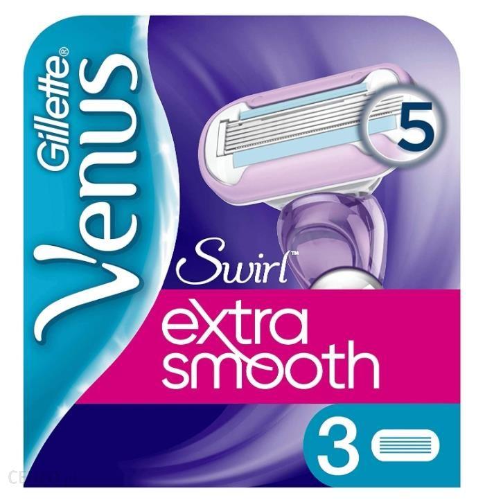 Venus Extra Smooth Wymienne Ostrza 3Szt.