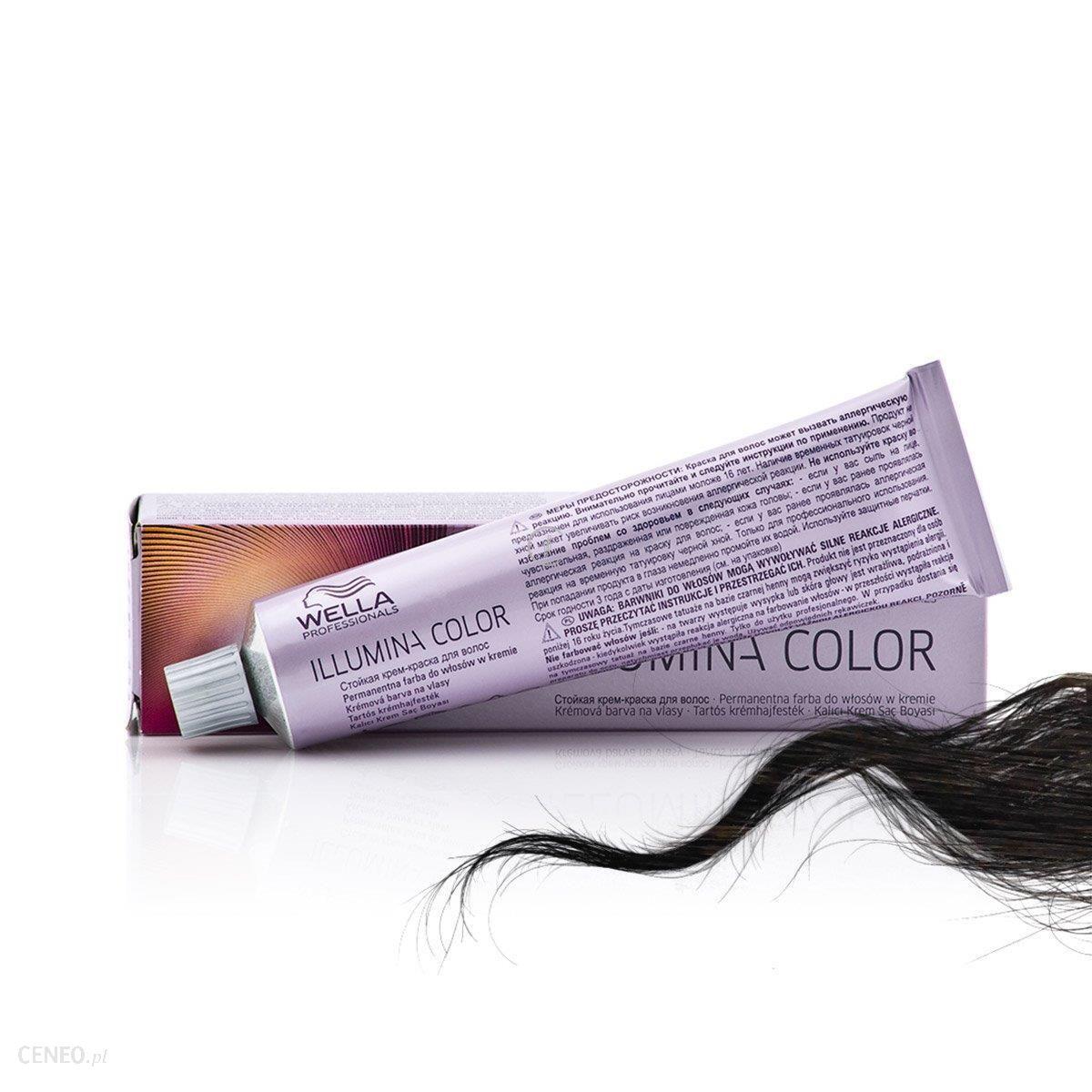 Wella Illumina 4/ Farba Rozświetlająca 60ml