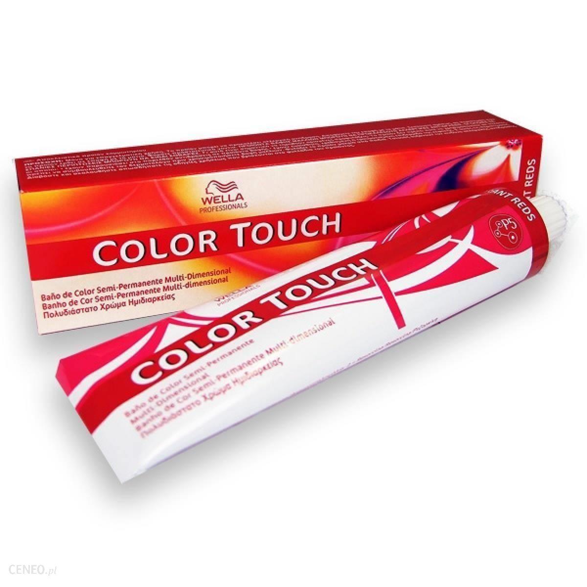 Wella Professionals Color Touch Toner do włosów 60ml 5/37 złoto brązowy jasny brąz