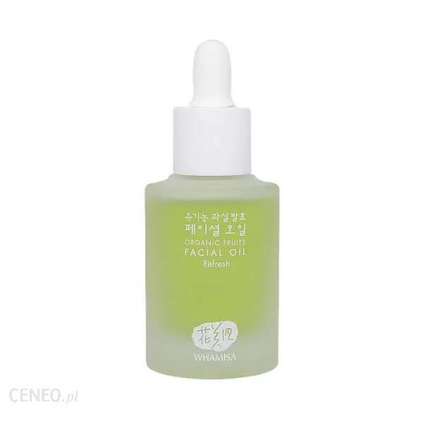 Whamisa Olejek Do Twarzy Z Dodatkiem Enzymów Owocowych Organic Fruits Facial Oil Refresh 26Ml