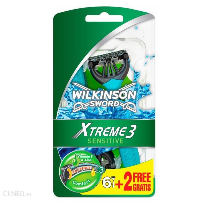 Wilkinson Sword Xtreme 3 Sensitive Jednoczęściowe Maszynki do Golenia 8 szt.
