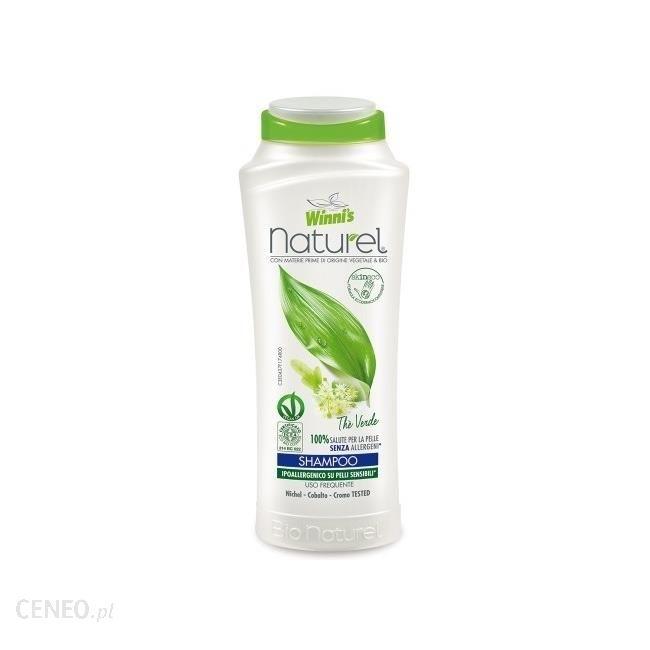 Winnis Szampon Z Zieloną Herbatą Kasztanowcem I Proteinami Roślinnymi 250 Ml