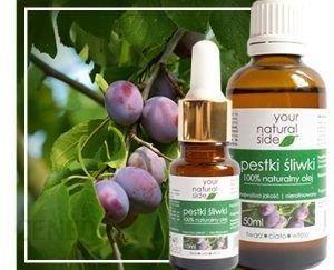 Your Natural Side Olej z pestek śliwki nierafinowany 50ml